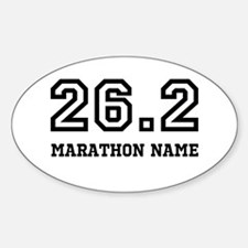 Marathon Name Personalize It! Decal