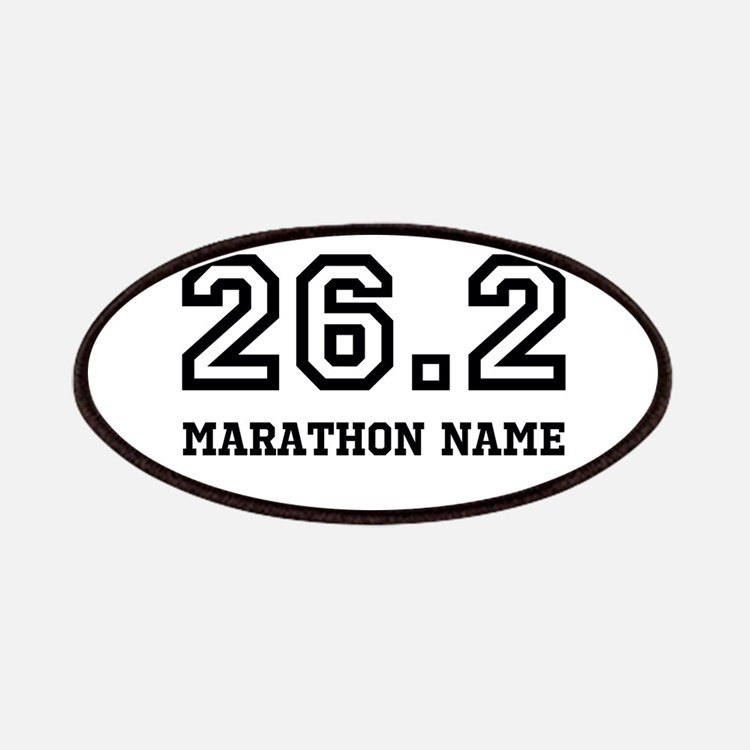 Marathon Name Personalize It! Patches