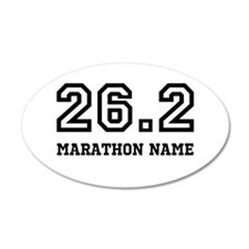 Marathon Name Personalize It! Wall Decal