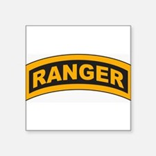 "Funny 3rd ranger battalion Square Sticker 3"" x 3"""