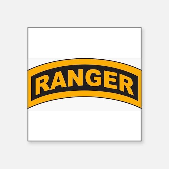 "Unique 2nd ranger battalion Square Sticker 3"" x 3"""