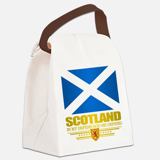 Flag of Scotland Canvas Lunch Bag