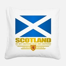 Flag of Scotland Square Canvas Pillow