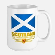 Flag of Scotland Mugs