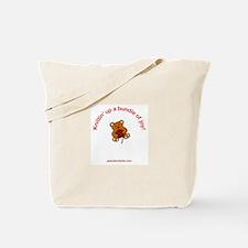 """Knittin' up a bundle of joy!"" Tote Bag"