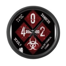 4 Biohazard 2 Large Wall Clock