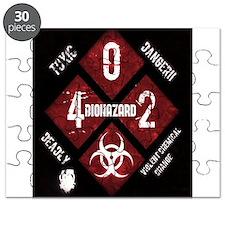 4 Biohazard 2 Puzzle