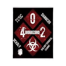 4 Biohazard 2 Twin Duvet