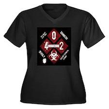 4 Biohazard 2 Plus Size T-Shirt
