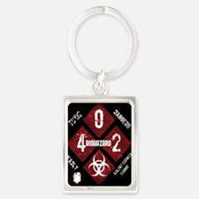 4 Biohazard 2 Keychains