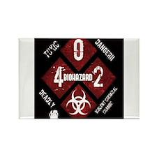 4 Biohazard 2 Magnets