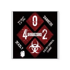 4 Biohazard 2 Sticker