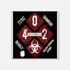 4 Biohazard 2 Sticker