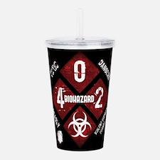 4 Biohazard 2 Acrylic Double-wall Tumbler