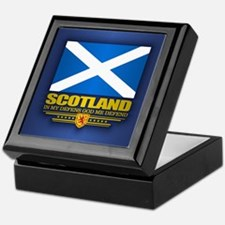 Flag of Scotland Keepsake Box