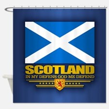 Flag of Scotland Shower Curtain