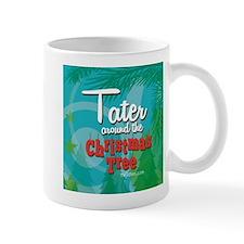 Tater Around The Christmas Tree Mug Mugs