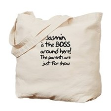 Jasmin is the Boss Tote Bag