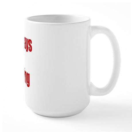 Hank Home Run Large Mug