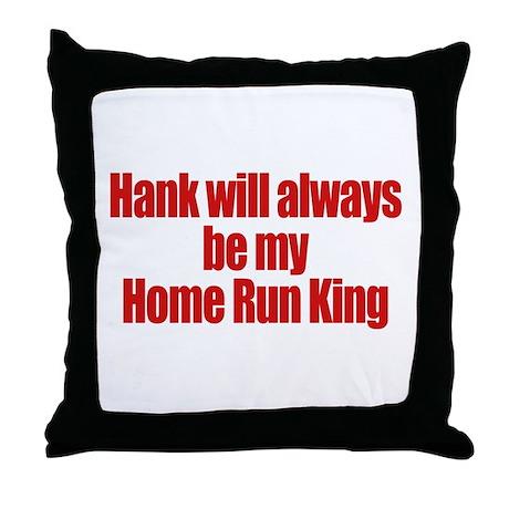 Hank Home Run Throw Pillow