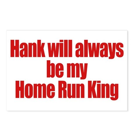 Hank Home Run Postcards (Package of 8)