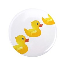 "Cute Ducklings 3.5"" Button"