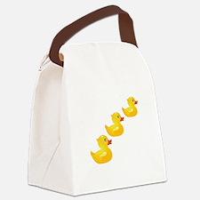 Cute Ducklings Canvas Lunch Bag