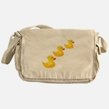 Cute Ducklings Messenger Bag