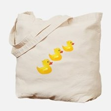 Cute Ducklings Tote Bag