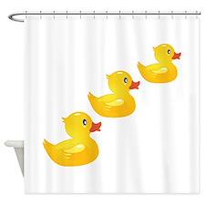 Cute Ducklings Shower Curtain