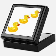 Cute Ducklings Keepsake Box