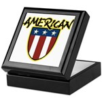 American Stars and Stripes Keepsake Box