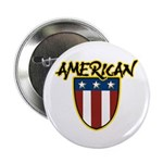 "American Stars and Stripes 2.25"" Button (100 pack)"