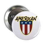 American Stars and Stripes Button