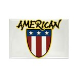 American Stars and Stripes Rectangle Magnet (100 p