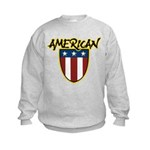 American Stars and Stripes Kids Sweatshirt