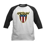 American Stars and Stripes Kids Baseball Jersey