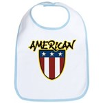 American Stars and Stripes Bib