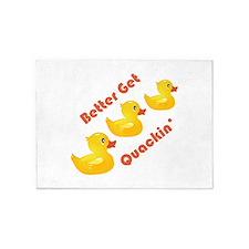 Better Get Quacking 5'x7'Area Rug