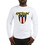American Stars and Stripes Long Sleeve T-Shirt