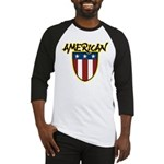 American Stars and Stripes Baseball Jersey