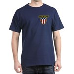 American Stars and Stripes Dark T-Shirt