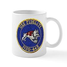 USS FIDELITY Mug