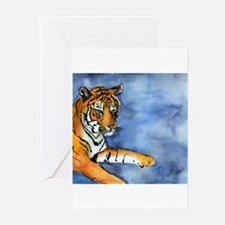 Bengal Tiger Art Greeting Cards