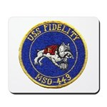 USS FIDELITY Mousepad