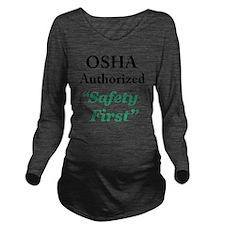 OSHA Safe Long Sleeve Maternity T-Shirt