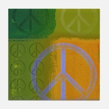 Peace.png Tile Coaster