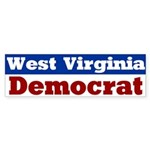 West Virginia Democrat Bumper Sticker