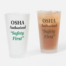 OSHA Safe Drinking Glass