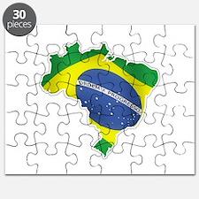 Brazilian Flag Puzzle
